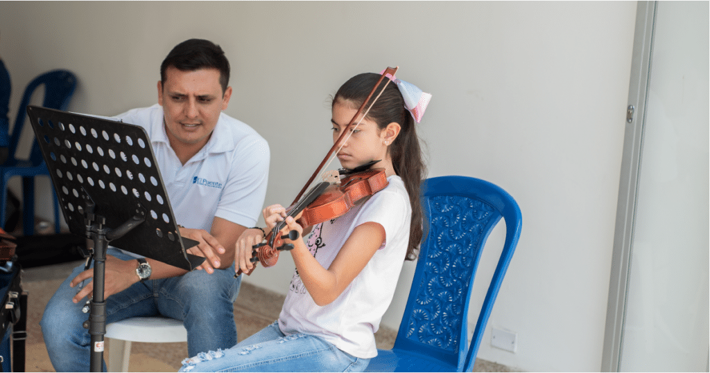 El_puente_academia_de_músicaClases de violín