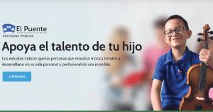 El Puente Academia de Música Bucaramanga - Inicio