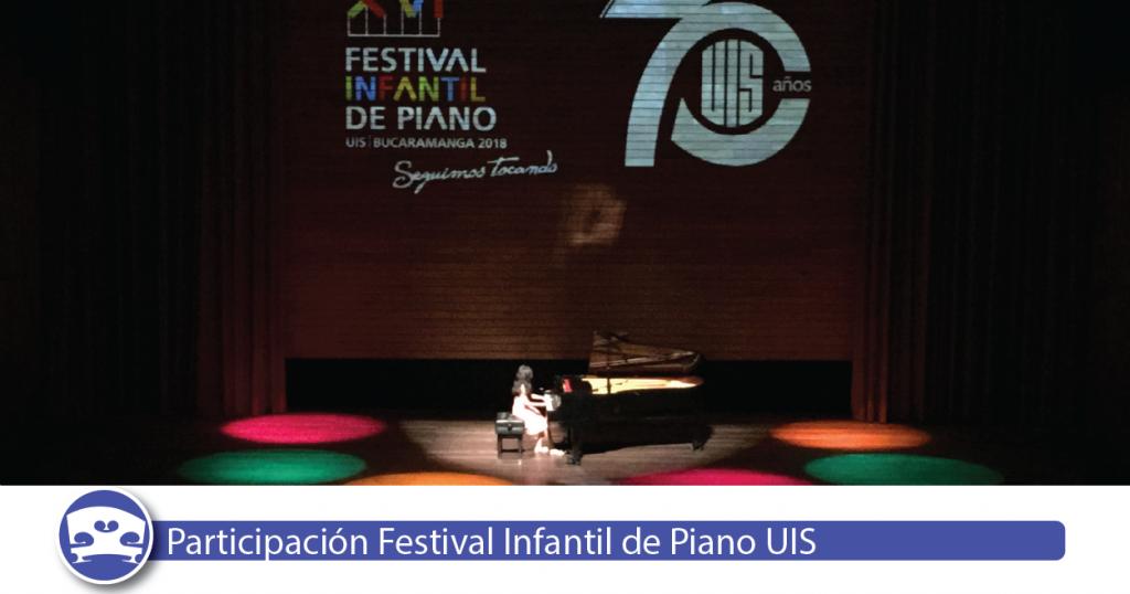 Festival Infantil de Piano UIS